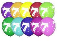 Кульки з цифрами