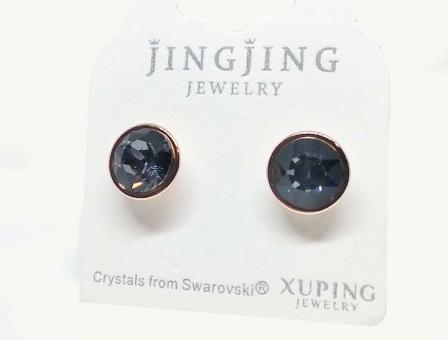№10040 Сережки XuPing с камнями Swarovski