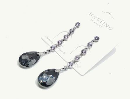 №10050 Сережки XuPing с камнями Swarovski