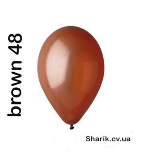"""Шары Gemar A50-48 5""""(коричневый)"""