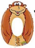 Шарик Цифра 0 обезьяна