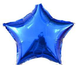 Звезда 18 дюймов(45х45см) синяя FLEXMETAL