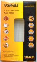 Клей силиконовый Sigma (упаковка 100шт., тонкий - 8мм)