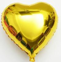 Сердце 18 дюймов(45х45см) золотое FLEXMETAL