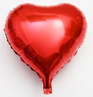 Сердце 18 дюймов(45х45см) красное FLEXMETAL