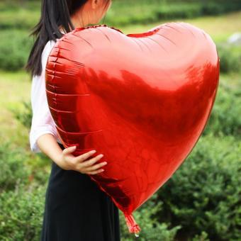 Сердце 32 дюймов(97х72см) красное FLEXMETAL