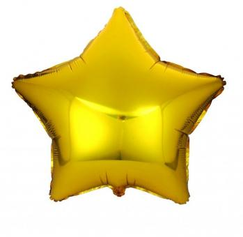 Звезда 18 дюймов (45х45см) золото №2 Китай