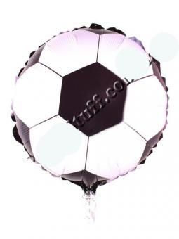 Шар фольгированный футбольшый мяч 45 на 45см