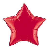 Звезда 32 дюймов(72х72см) красная FLEXMETAL