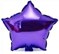 Звезда 18 дюймов(45х45см) (фиолетовая) Китай