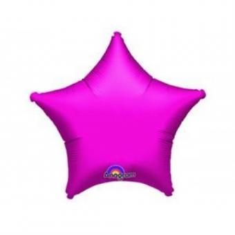 Звезда 18 дюймов (45х45см) фуксия №2 Китай