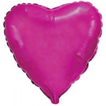 Сердце 18 дюймов(45х45см) малиновое FLEXMETAL