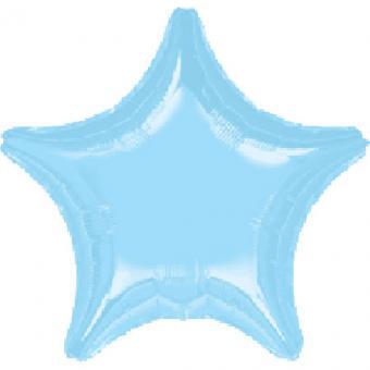 Звезда  18 дюймов(45х45см) голубая FLEXMETAL