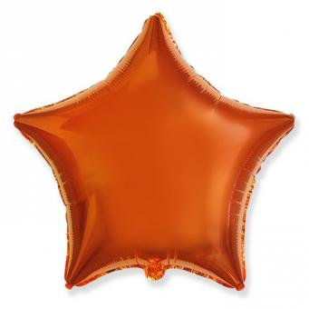 Звезда 18 дюймов(45х45см) оранжевая FLEXMETAL