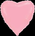 Сердце 32 дюймов(97х72см) светло розовое FLEXMETAL