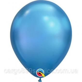 """Хром Китай 12""""(30см) синий"""