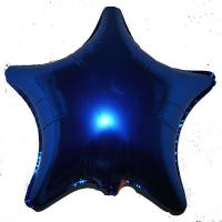 Звезда 20 дюймов (50х50см) синяя Китай