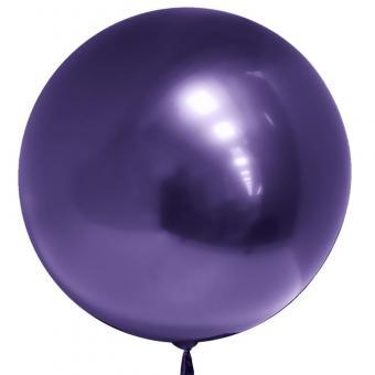 """Хром Bubble Китай 22""""(50см) фиолетовый"""