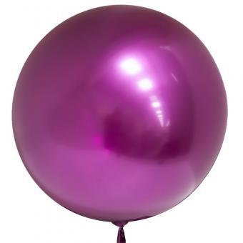 """Хром Bubble Китай 22""""(50см) малиновый"""