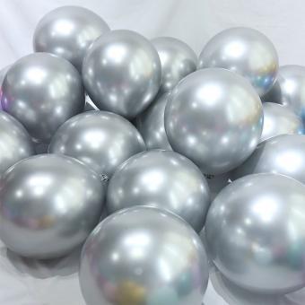 Хром Китай 5″(13см) Серебро (Silver) 100шт