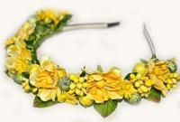 №1272 Обруч с цветами