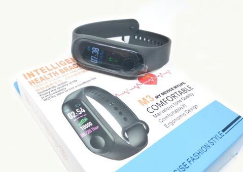 №1333 Фитнес часы M3, IOS, Android