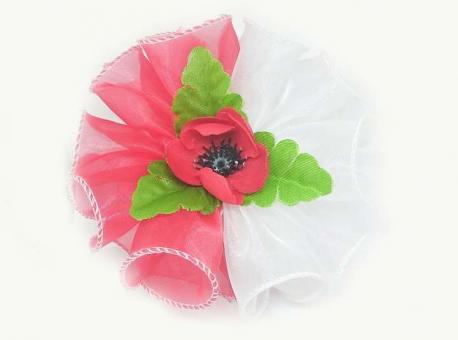 №13341 Бант Резинка цветок