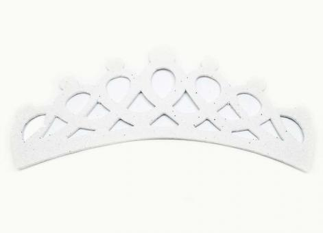 №1483 Заготовка корона фоамиран белая