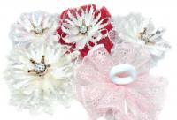 №1541 Резинки бантики корона