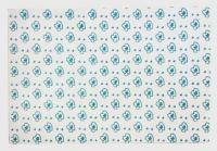№1551 Фоамиран с рисунком без клея 10шт