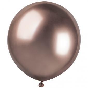 Шарик Хром Gemar 19″ (48см)  розовое золото