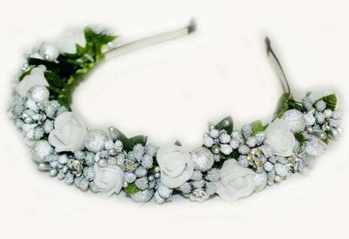 №22 Обруч с цветами