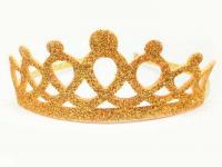 №240 Корона фоамиран золото