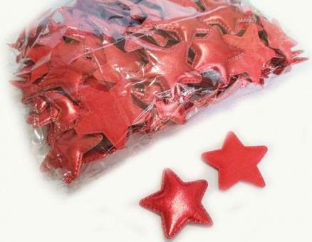 №40241 кабошон звезда красная 10шт