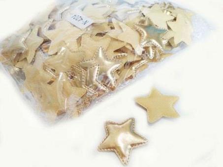 №40245 Кабошон звезда золото 10шт