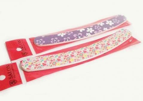 №4053 Пилочка полировка с цветами