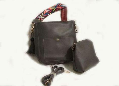№40731 Набор сумок темно-серый