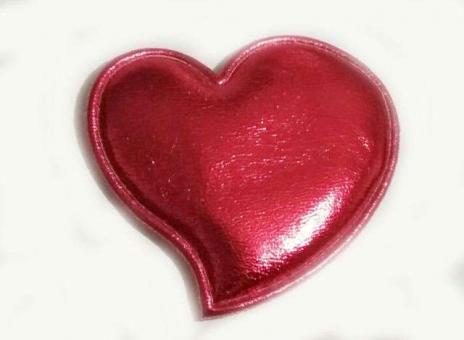 №42514 Заготовка Сердце красное