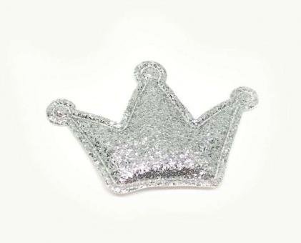 №472 кабошон корона серебро 10шт