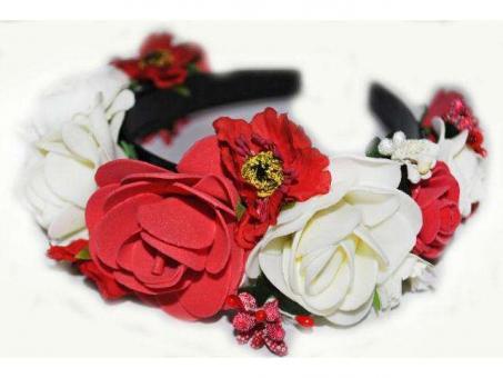 №521 Обруч с цветами