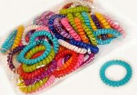 №5773 Резинки-пружинки цветные яркие
