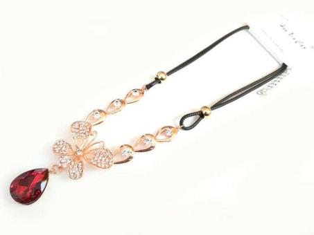 №5906 Ожерелье золото короткая цепочка