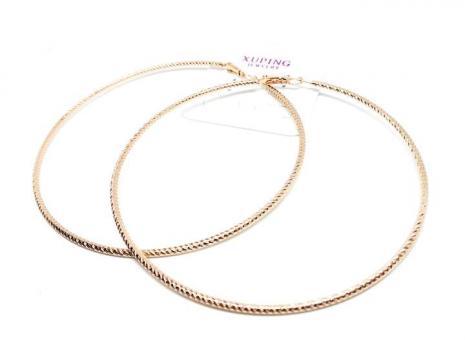 №6157 Сережки кольца XuPing