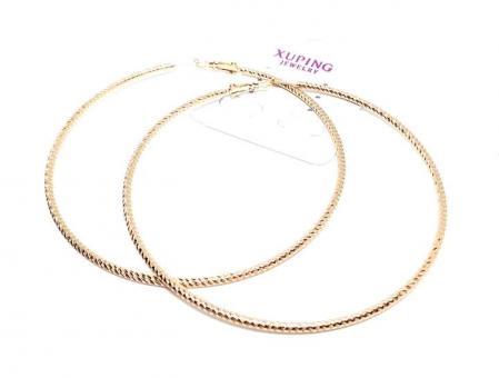 №6158 Сережки кольца XuPing