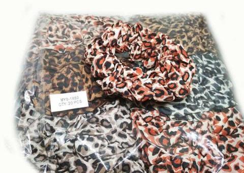 №690 Резинка Му8-1850 тканевая гепард