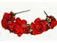№767 Обруч с цветами