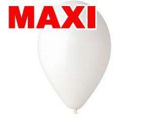 Шары Gemar MAXI Белые 10″ (26см) 500шт.