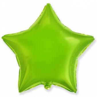 Звезда FLEXMETAL 18 дюймов(45х45см) Лайм (салатовая)