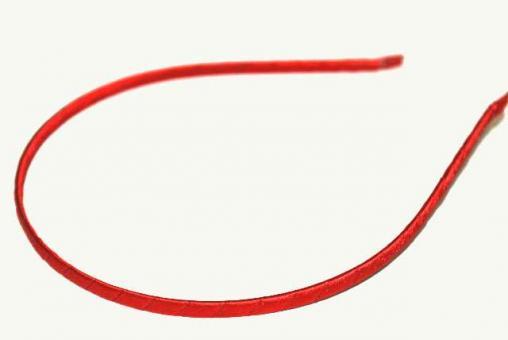 №826 Обруч красный обмотанный