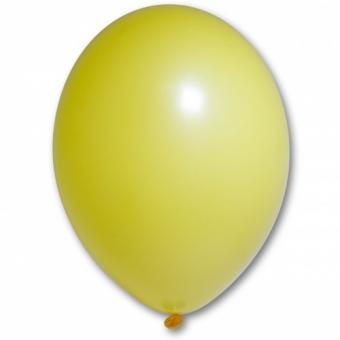 "Шарик BELBAL №117  пастель ЯРКО - ЖЁЛТЫЙ(Bright Yellow) 12""(30см)"